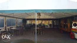 Storage/showroom tent from Netherlands