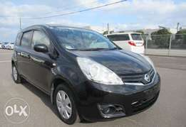 Selling nissan note 2012 black 1500 cc 2wd