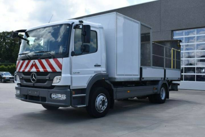 Mercedes-Benz Atego 1216 with box; plateau and lift 2013 EURO5 - 2013