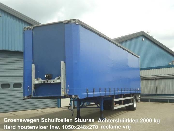 Groenewegen DRO 10-10 Schuifzeil Hard houtenvloer Stuuras Achtersluiklep - 2006