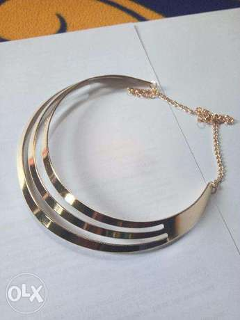 3 layer chunky necklace Lokogoma - image 4