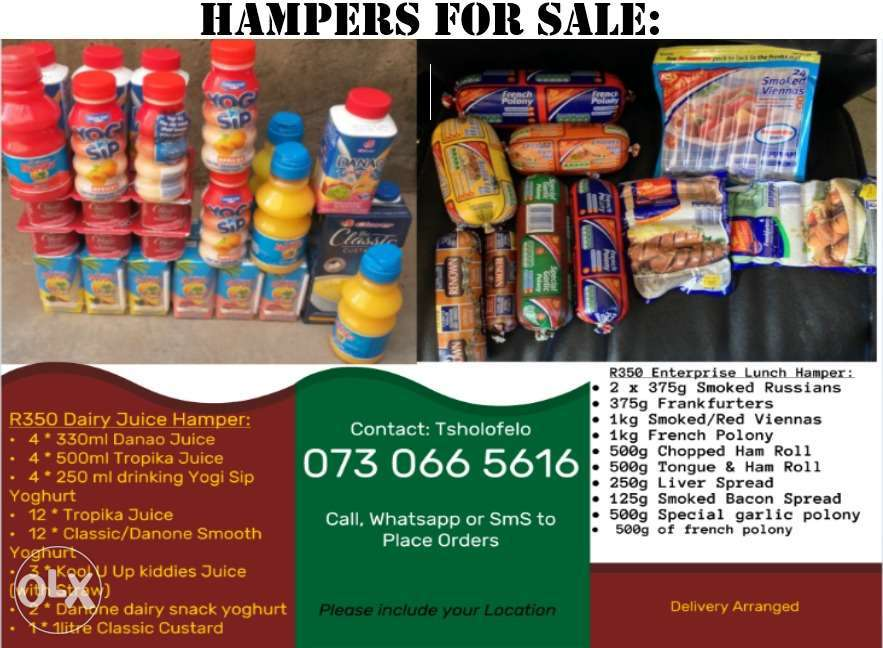 Food Hampers For Sale Community Announcements