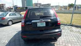 Honda crv black on cream