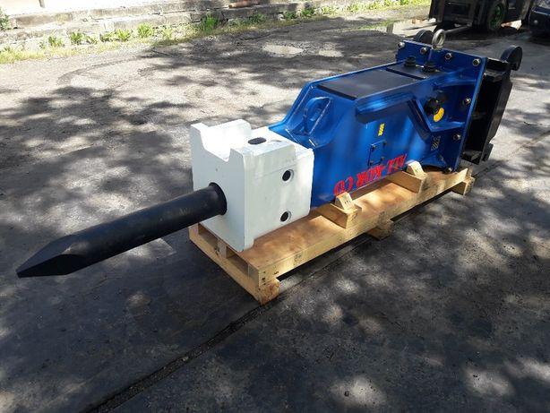 Topnotch Młot hydrauliczny do koparki 1300kg JCB Liebherr Cat Komatsu Jawor XJ47