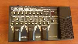 Boss me50 bass multiple effects pedal