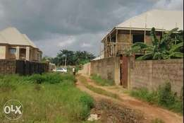 Uncompleted 3bedroom of 4flat at sunrise estate for sale