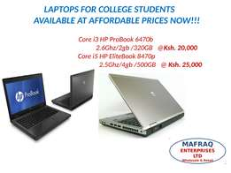 Affordable EX UK Laptops for College Students