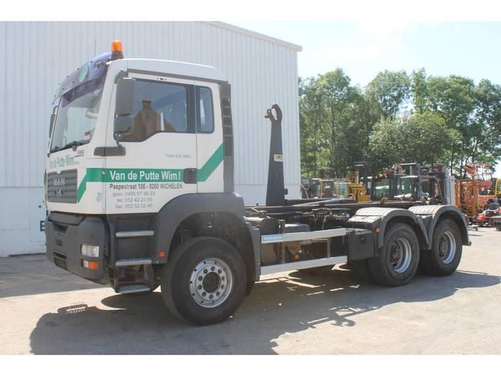 MAN TGA 26.350 6x4Haakarm Vrachtwagen - 2005