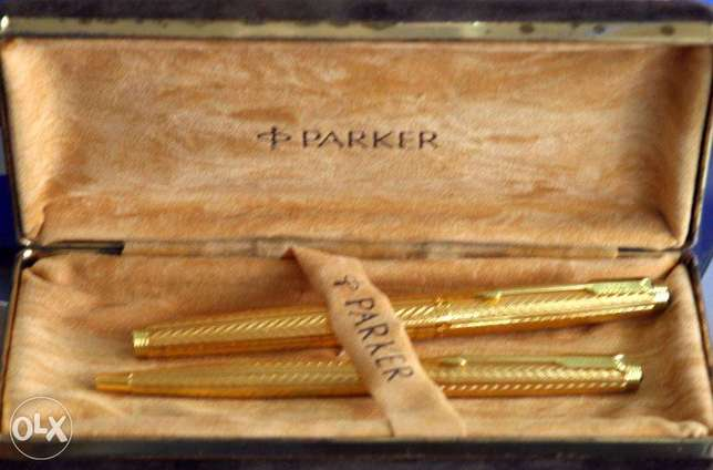 Parker gold plated