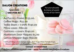 Daijon Creations - Mothers day specials