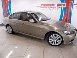 2009 bmw 3 series 320i automatic (e90) with beige leather interior