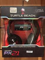 turtle beach earforce px21 gaming earphones.