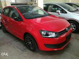 Volkswagen Polo red colour 2011 model. KCP number Loaded with Alloy r