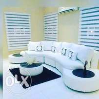 Window blinds,Laminates floors,Wallpapers