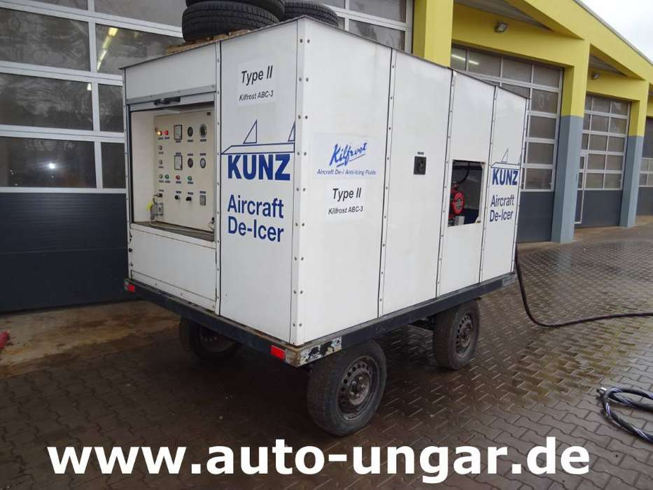 Kunz Aircraft De-icer Anti-icer 1200e Gse - 1992