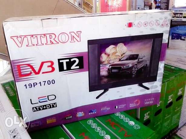 Vitron 19 inch digital TV with over 100 free to air channels Nairobi CBD - image 1