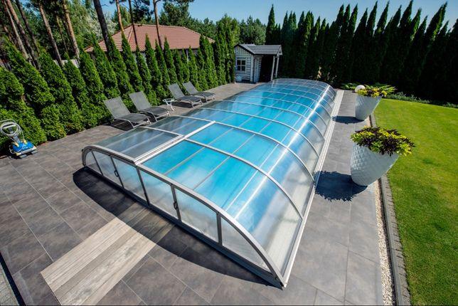 Niesamowite Zadaszenia basenowe, zadaszenie do basenu ogrodowego MONTAŻ US77