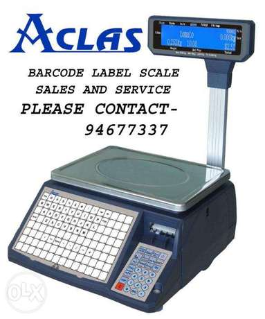 Aclas label printing scale