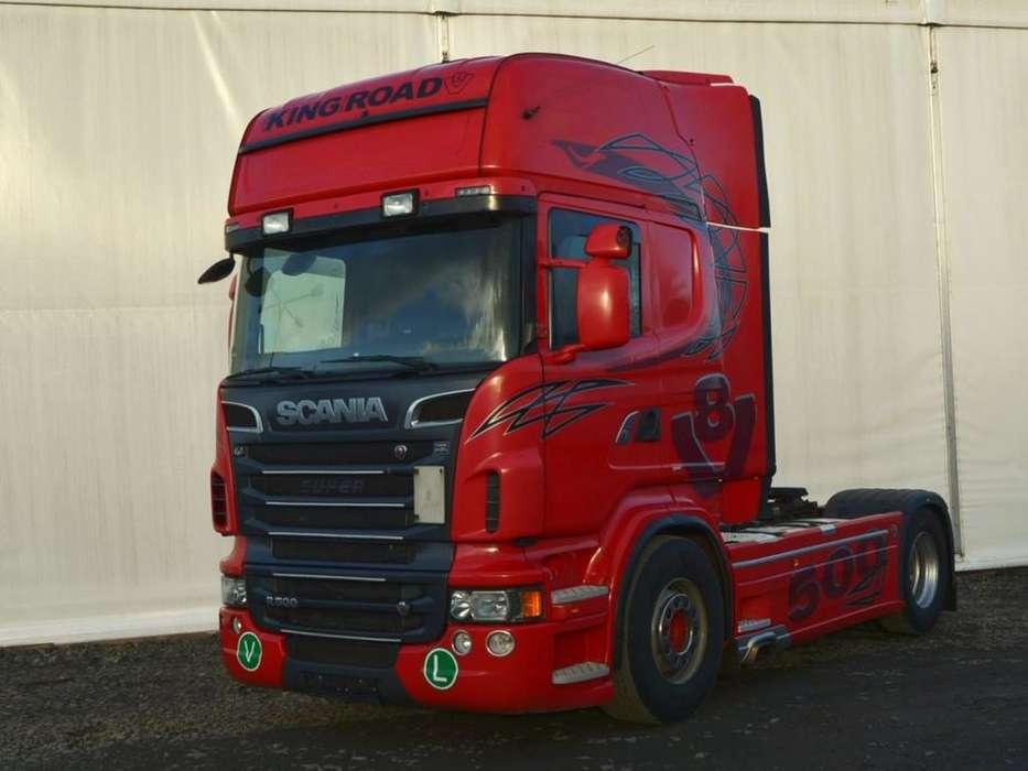 Scania R 500 V8 Hydraulika, Retarder - 2012