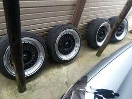 BBS rims for sale- 17's 5/100 5/114 pcd.