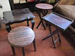 4 occasional tables