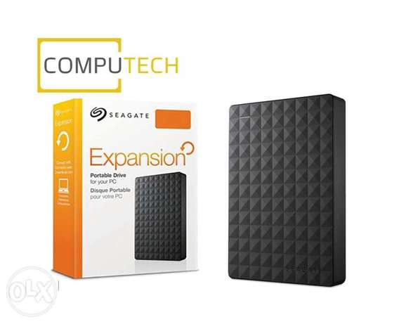 Seagate Expansion Portable Drive For Laptop Thin Hard Disk