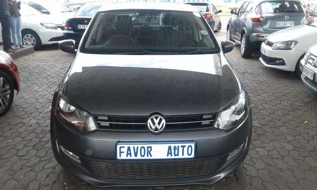 Vw Polo 6 1.4 Comfort-Line, 2012 Model with 95000Km Ellis Park - image 2