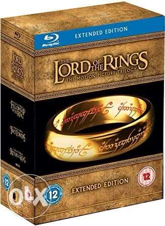 lord of the rings extende edition bluray