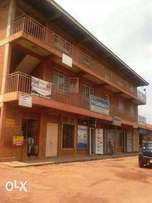 A commercial building for sale at Wandegeya