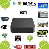 Android tv box Quad-Core WiFi Kodi 1080P Smart set TV Box 8GB XBMC