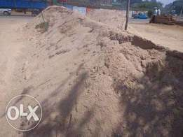 River sand from 23,000/truck load or 1750/ton