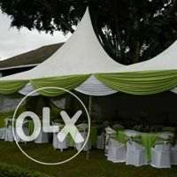 we lead in hire of tents.tables,chairs and decoration