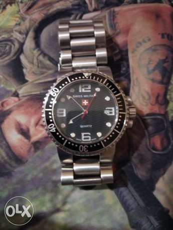 Suiss military watch suiss made excellent condition