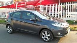 Grey Ford Fiesta 1.4 Trend Still In Very Good Condition For Sale