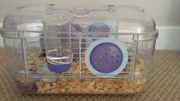 hamster tank/cage