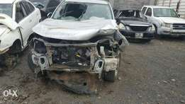 Subaru forester KCG with damaged front part.