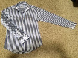 Рубашка мужская Franttini приталенная с длинным рукавом модная f673bb61f5bad