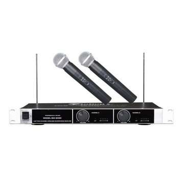 New sm 6060 2 in 1 wireless microphones Ojo - image 1