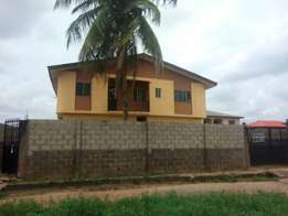 Standard 4 flat of 3 bedroom With C ofO At Community road Ijegun Lagos
