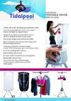 Indoor portable electric hot air clothes/ laundry dryer