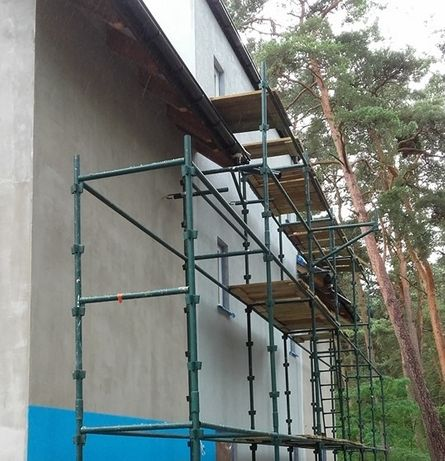 Nowoczesna architektura 100 m Kompletne rusztowanie choinkowe klinowe od producenta WR71