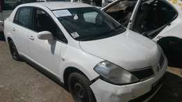 Nissan tiida 2006 model 1.6 stripping for spares