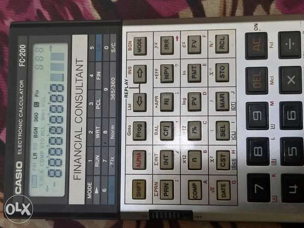 Casio FC-200 Financial consulatant