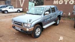 Very clean Toyota Hilux Double cabin