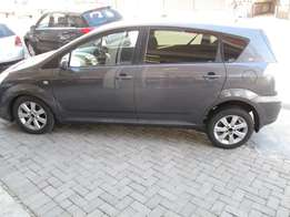 2008 toyota verso 1.6 sx, in excellent condition.
