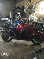 2004 Suzuki Hayabusa 1300 LTD edition stripping for spares