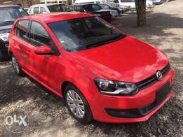 Volkswagen Polo red 1400cc newshape 2010