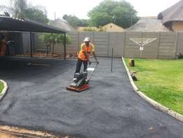 Tar paving and driveways