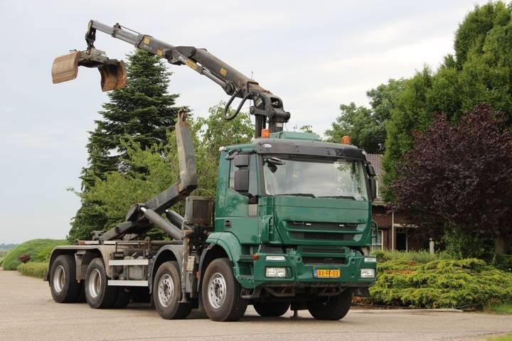 Iveco TRAKKER 8x4 Z-kran/HAAK/WIDESPREAD EURO5!! - 2009