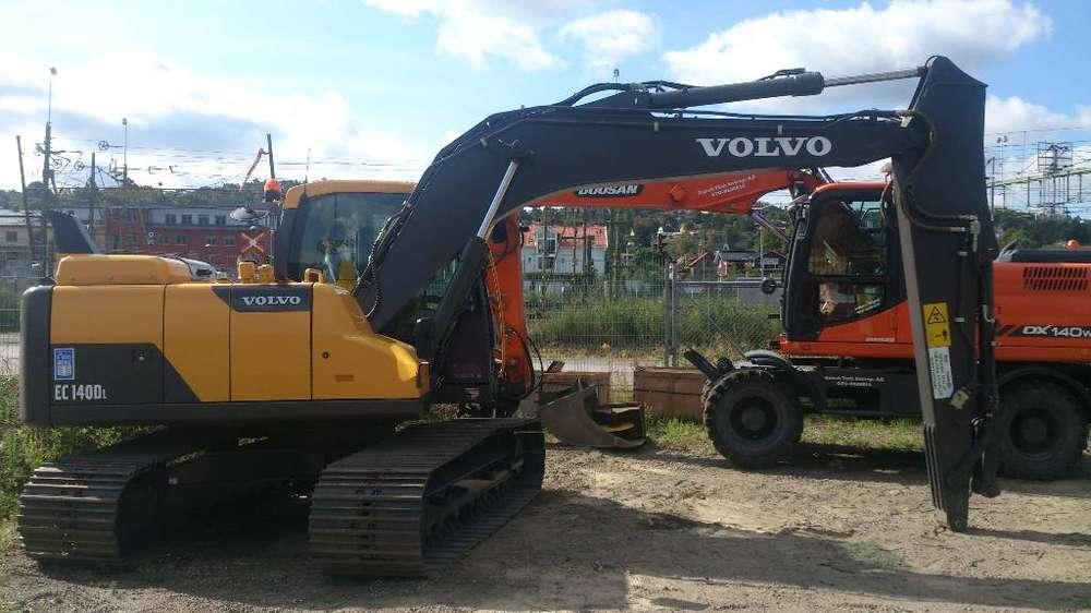 Volvo Ec 140 D, Uthyres - 2014